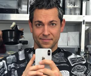 actor, funny face, and zachary levi image