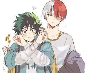 fanart, todoroki shouto, and boku no hero image