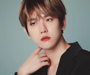 angel, korean boy, and exo image