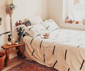 bedroom, boho, and chic image