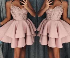 homecoming dresses, pink prom dresses, and sequin prom dresses image