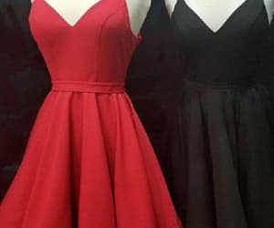 homecoming dress red, wedding dress, and homecoming dresses image