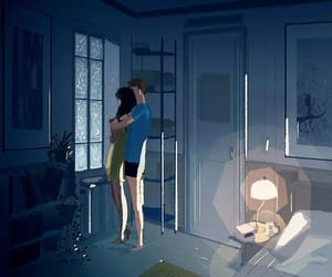 amor, parejas, and arte image