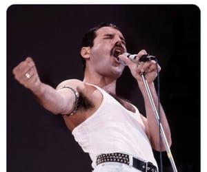 Freddie Mercury, Queen, and thank u next image