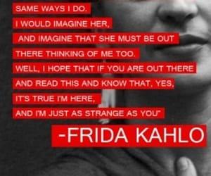 bizarre, frida kahlo, and i am here image