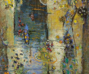 abstract, art, and oil on canvas image
