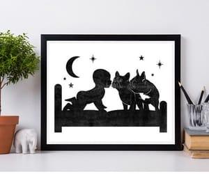 baby, etsy, and french bulldog image