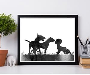 baby, etsy, and pit bull image