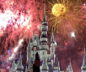 fireworks, beautiful, and disney image