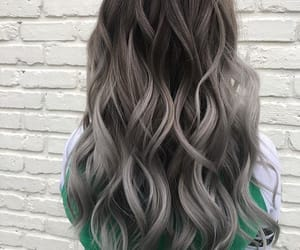 grey, hair, and girl image