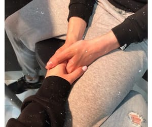 couple, goals, and holding hands image