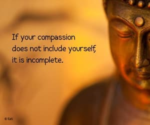 Buddhist and quote image