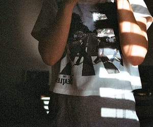 t-shirt, the beatles, and vintage image