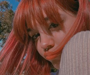 aesthetic, grunge, and hair style image
