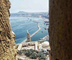dz, sea, and algerie image