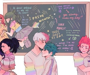 anime, gay, and todoroki shouto image