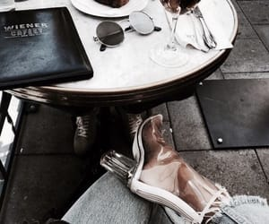 fashion, shoes, and food image