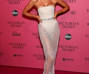 candice swanepoel, model, and red carpet image