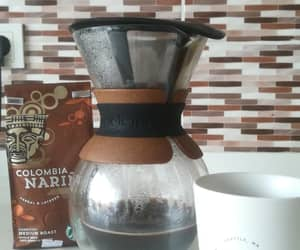 chemex, brown, and coffee image