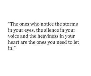 quotes, heart, and storm image
