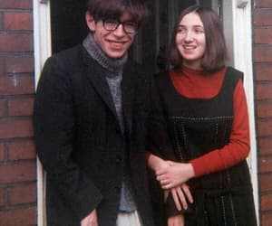 couple, science, and stephen hawking image