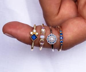 diamonds, sapphire, and style image