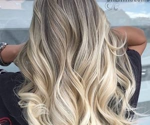 blonde, curls, and goals image
