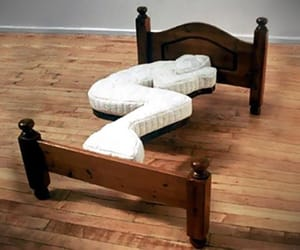 beds, mattress, and comfortable image