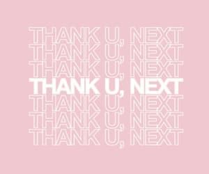 Lyrics, wallpaper, and thank u next image