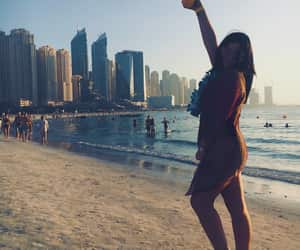 girl, UAE, and Dubai image