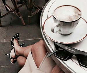 coffee, shoes, and celine image