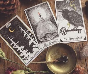 tarot, magic, and witchcraft image