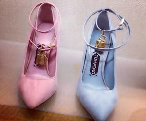 shoes, pink, and tom ford image