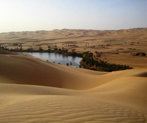 blue, sand, and sand dunes image