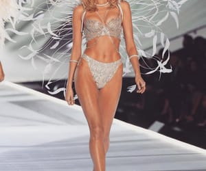 Victoria's Secret, elsa hosk, and fashion show image