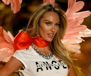 fashion, candice swanepoel, and blonde hair image
