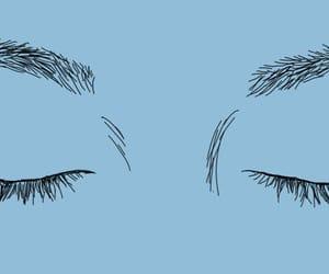 blue, eyes, and art image