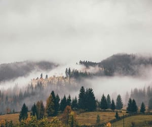 autumn, clouds, and fall image