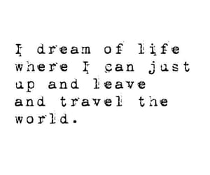 Dream, life, and travel image