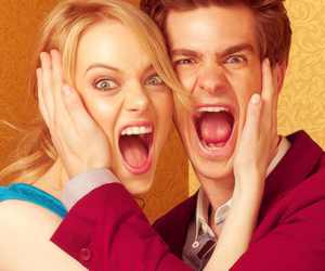 boy, girl, and andrew garfield image