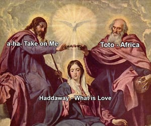 a-ha, meme, and toto image