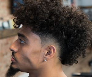 curly hair, guys, and men image