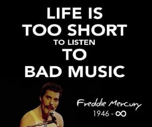 Freddie Mercury, Queen, and quotes image