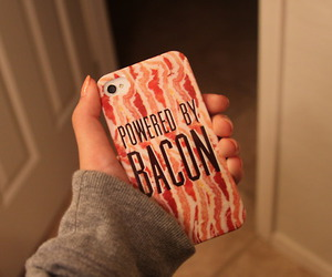 apple, photography, and bacon image