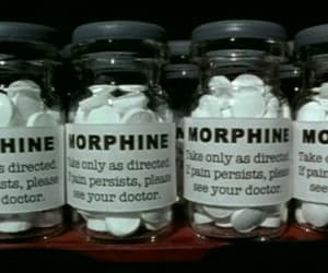 drugs, morphine, and pills image