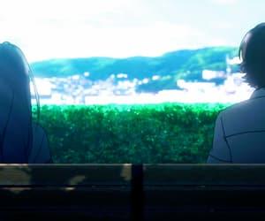 anime, anime girl, and anime scenary image
