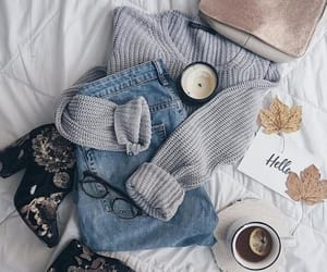 autumm, gray, and oufits image