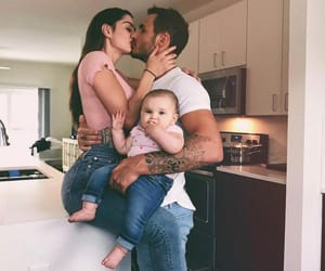 baby, family, and thanks image