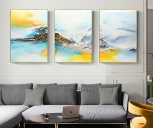 abstract art, Oil Painting, and wall decor image