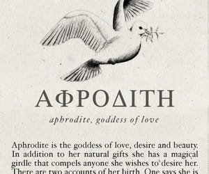 aphrodite, greek, and mythology image